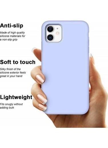 Bludfire Apple iPhone 11 Liquid Silikon Lansman Kılıf - Lila Lila